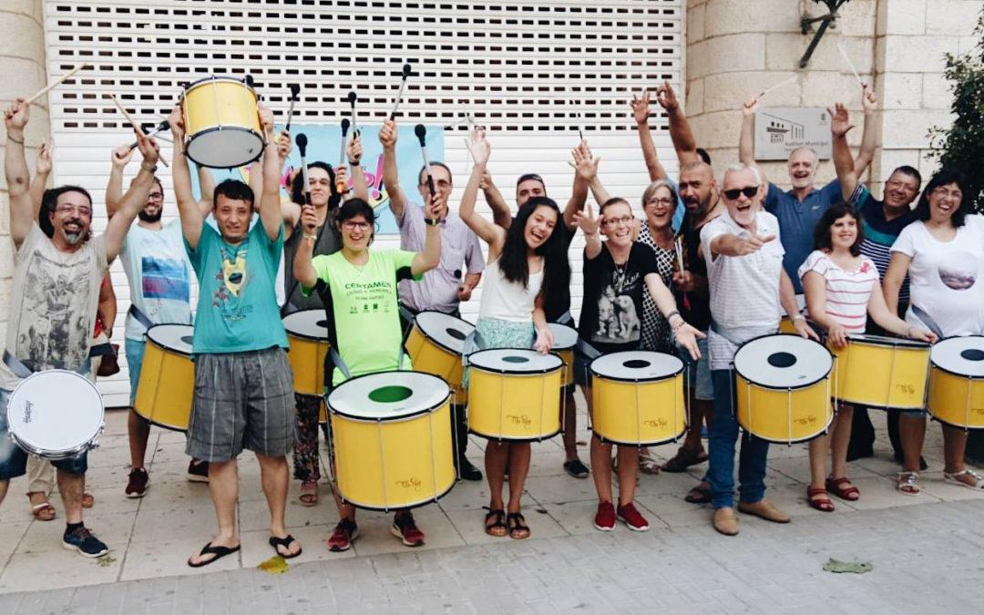 Recibimos los tambores de Tito Puig para la PERCUFENÒMENS!